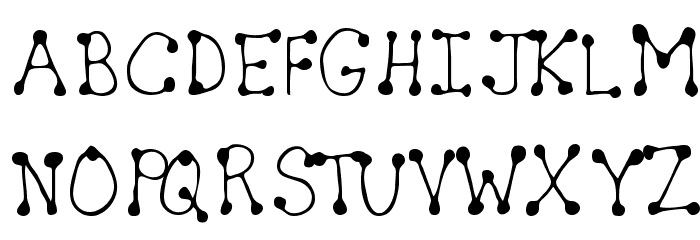 Sheryl Regular Font UPPERCASE