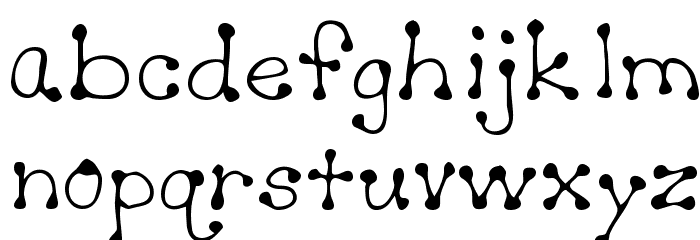 Sheryl Regular Font LOWERCASE
