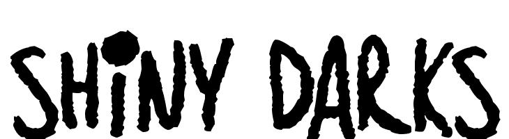 Shiny Darks  नि: शुल्क फ़ॉन्ट्स डाउनलोड