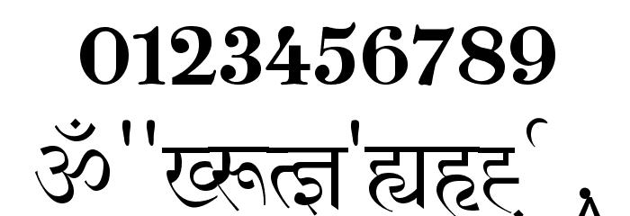 Shivaji01 Font OTHER CHARS