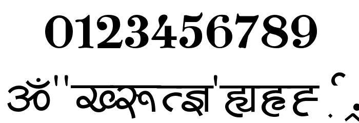 Shivaji05 Font OTHER CHARS