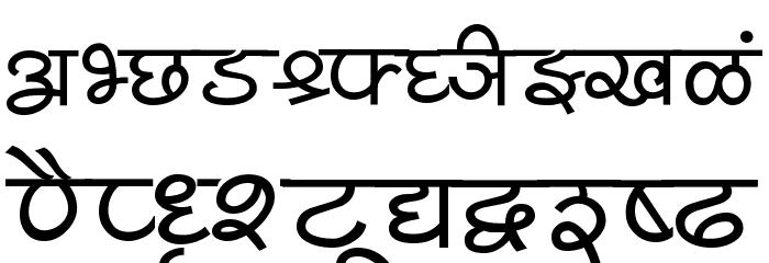 Shivaji05 Font UPPERCASE