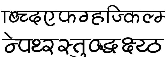 Shivaji05 Font LOWERCASE