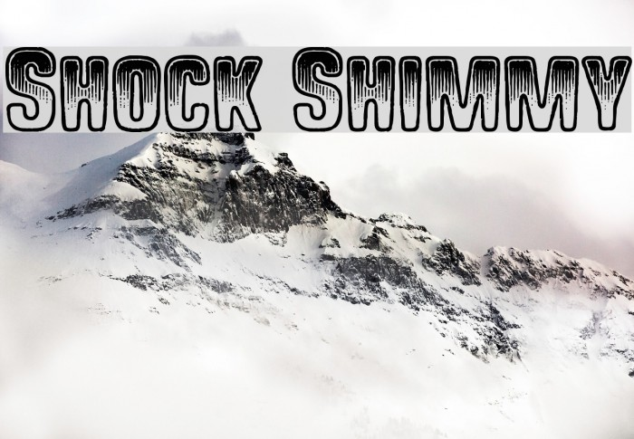 Shock Shimmy फ़ॉन्ट examples