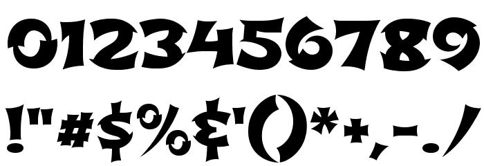 Shojumaru Font OTHER CHARS