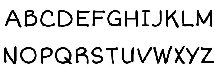 Short Stack Font UPPERCASE