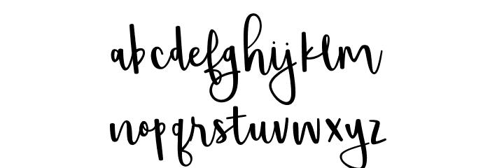 Shorthalt Font Litere mici