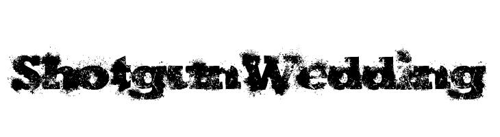 ShotgunWedding  Скачать бесплатные шрифты
