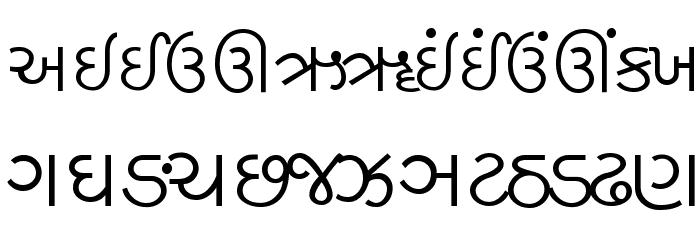 hitarth guj prachi font