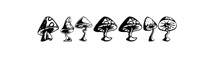 Shrooms  Free Fonts Download