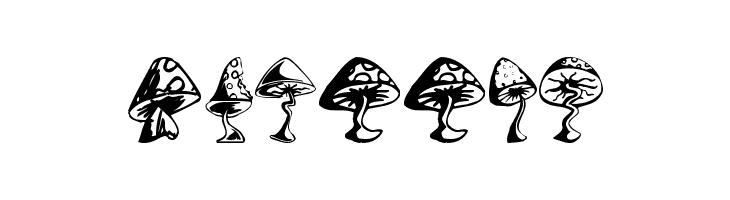 Shrooms  免费字体下载