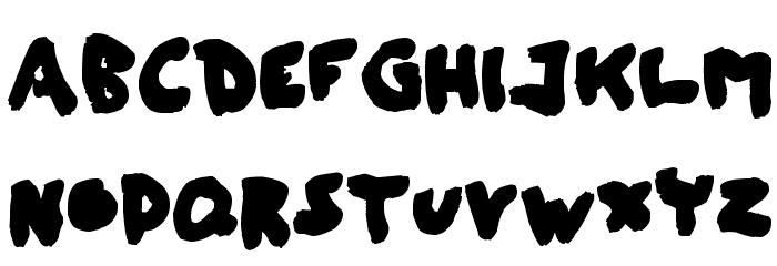 shash 字体 大写
