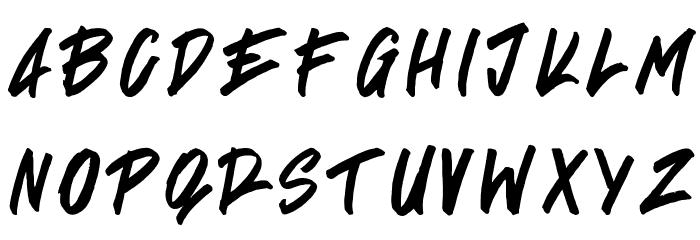 Signgual Regular لخطوط تنزيل الأحرف الكبيرة