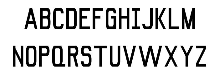Signus Bold NBP Font UPPERCASE