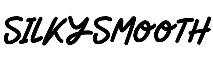 Silky Smooth  Free Fonts Download