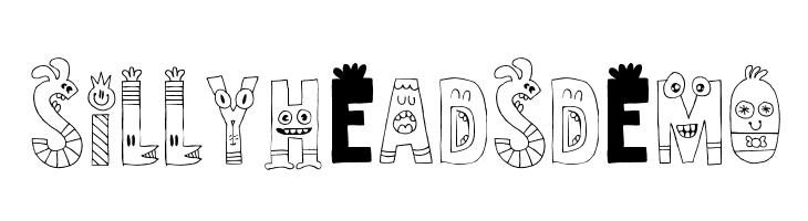 SillyheadsDEMO  Скачать бесплатные шрифты