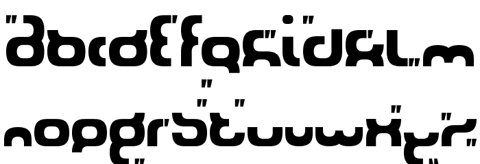 SilverStream Font LOWERCASE