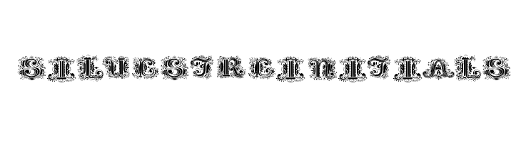 SilvestreInitials  Free Fonts Download
