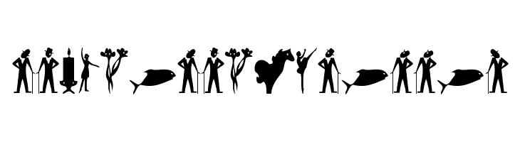 SimpleSilhouettes  baixar fontes gratis