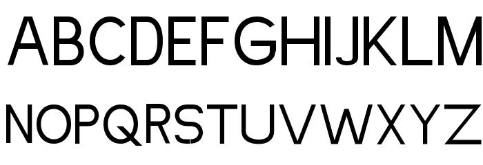 Simpleman Font UPPERCASE