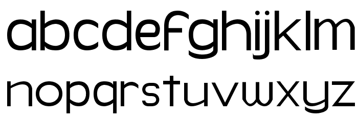 Simpleman Font LOWERCASE