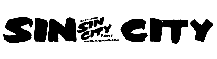 Sin-City  Free Fonts Download