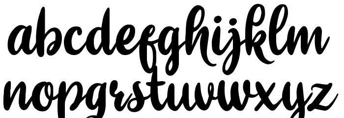 Sitoberry Шрифта строчной