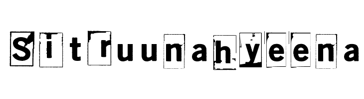 Sitruunahyeena  baixar fontes gratis