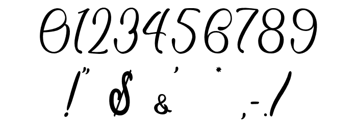 Sixth Babylon - Personal Use Font OTHER CHARS