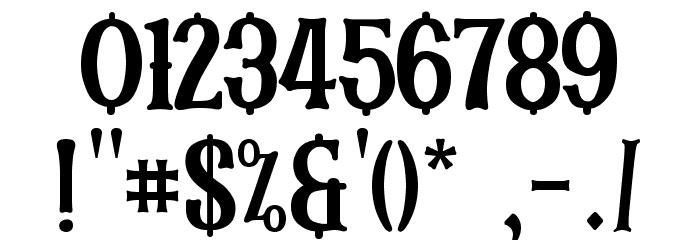 SKARTANICK Font OTHER CHARS
