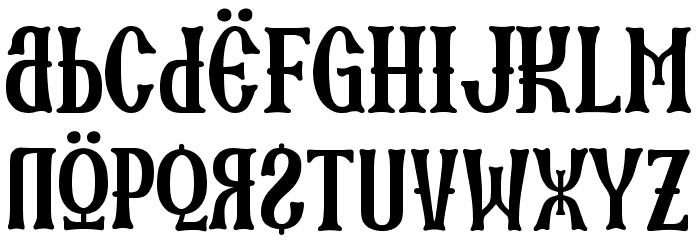 SKARTANICK Font LOWERCASE