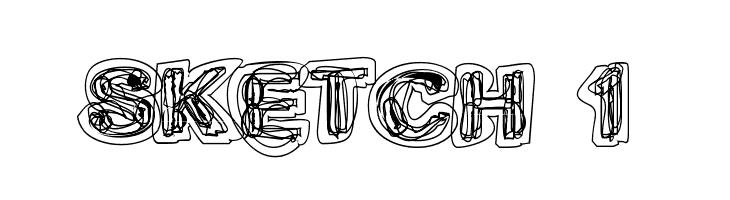 Sketch 1  Free Fonts Download