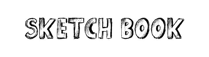 Sketch Book  font caratteri gratis