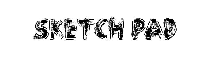 Sketch Pad Font - free fonts download