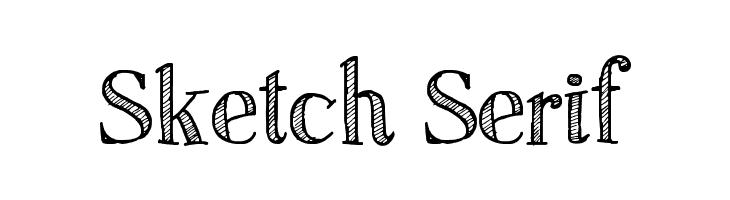 Sketch Serif Font - free fonts download