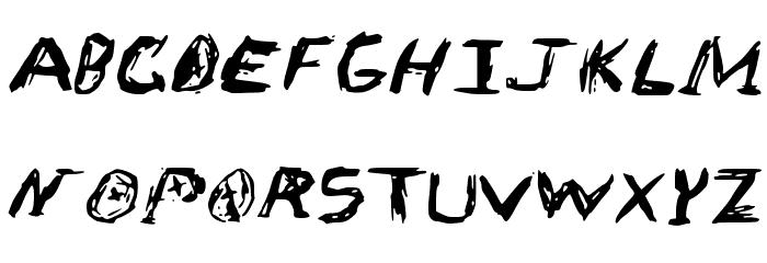 Sketch_Scoring_Font Schriftart Groß