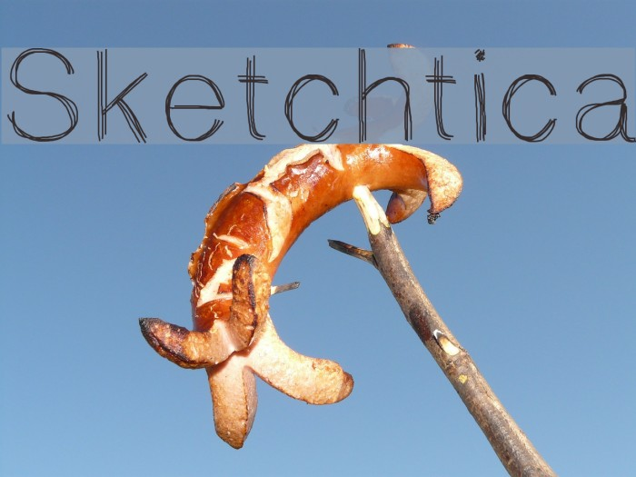 Sketchtica Font examples