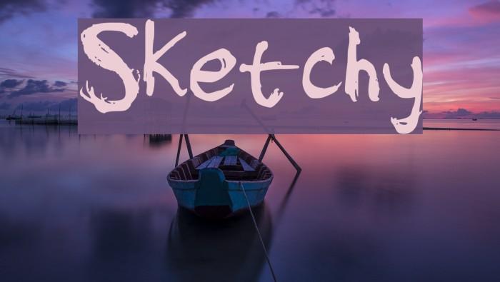 Sketchy Font examples