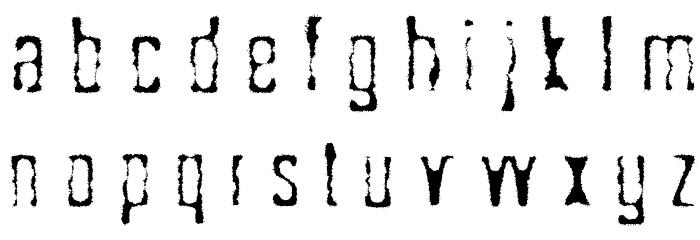 Sk�ggbiff Шрифта строчной