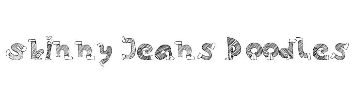 Skinny Jeans Doodles  baixar fontes gratis