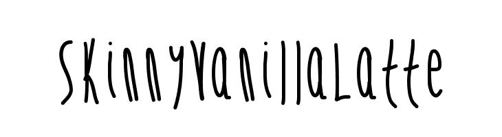 SkinnyVanillaLatte  नि: शुल्क फ़ॉन्ट्स डाउनलोड