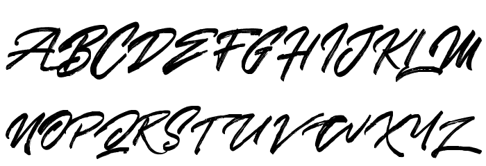 SkywalkerFreeDemo Font UPPERCASE