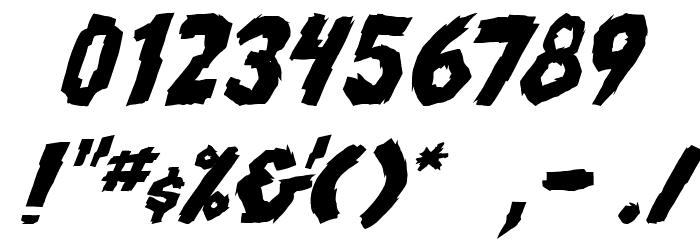 skrunch Bold Italic फ़ॉन्ट अन्य घर का काम
