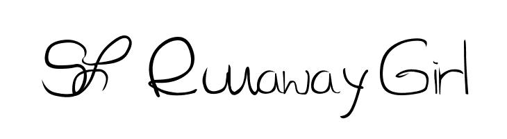 SL Runaway Girl  Free Fonts Download