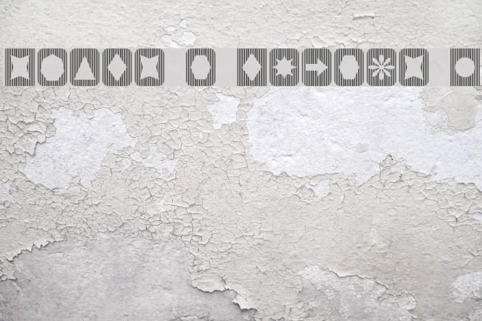 Slats n Things 2 Font examples