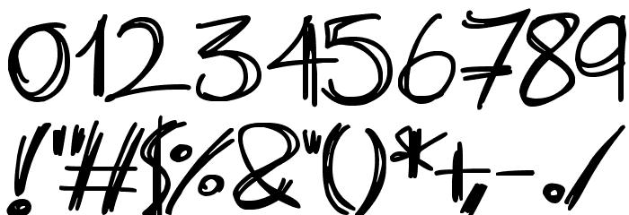 Slenderscratch 字体 其它煤焦