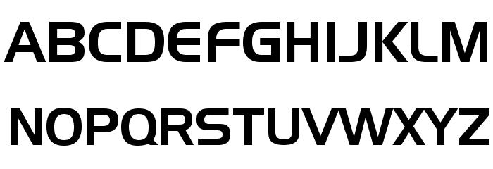 Slider Regular Font UPPERCASE