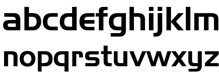 Slider Regular Font LOWERCASE