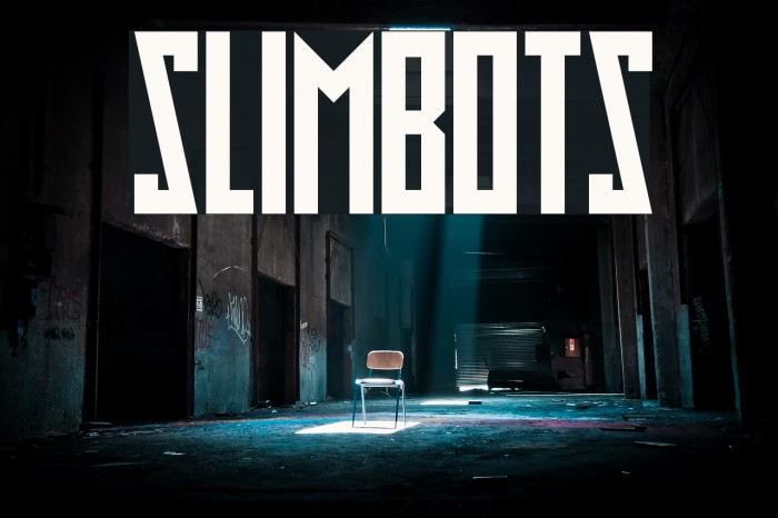 Slimbots フォント examples