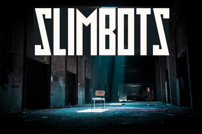 Slimbots फ़ॉन्ट examples